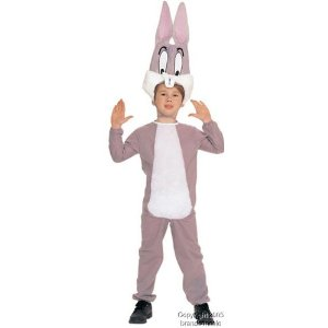 pink bugs bunny toddler costume