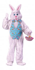 Bunny Costume with Overhead Mask